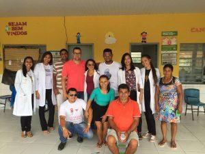 """Mirinzal  – Povoado Rio do Curral recebe """"Ação Mais Saúde"""""""