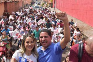 Zé Inácio (PT) participa de agendas de campanha na Região Tocantina e em Santa Luzia