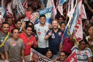 Othelino e Rubens Júnior realizam encontro com lideranças em São Luís