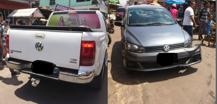 Carro de vereador de Pinheiro causa acidente na capital e deixa motorista de aplicativo desempregado