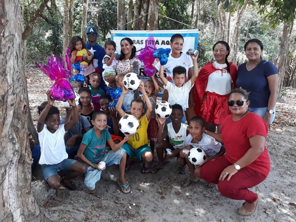 Pedro do Rosário – Programa Criança Feliz realiza ação em comemoração ao Dia das Crianças no Povoado Olho D'Água