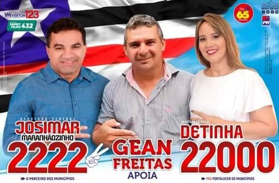 Empresário Gean Freitas foi o responsável direto pela votação do casal Josimar e Detinha em Pinheiro