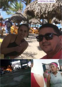 Pinheiro – Enquanto bandeiraço cobra pagamento de campanha, Primeira Dama curte as belas praias de Fortaleza