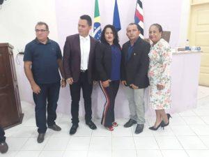 Pedro do Rosário – Leidiana do Sindicato é reconduzida a presidência da Câmara Municipal