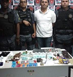 Estelionatário é preso na rodoviária de Cururupu com dezenas de cartões de bancários
