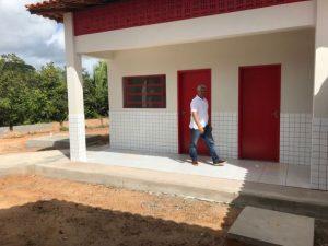 Prefeito Zé Martins vistoria construção de escolas na zona rural de Bequimão-MA