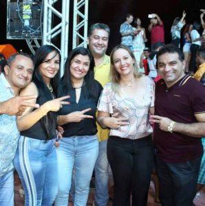Josimar e Detinha prestigiam aniversário da líder política Dilcilene em Boa Vista do Gurupi