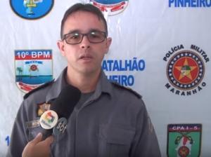 Principais ocorrências policiais do 10º BPM de Pinheiro
