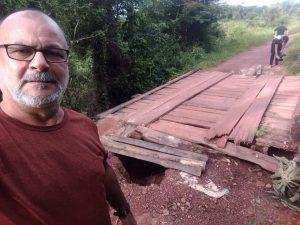 Vereador Beto de Ribão denuncia descaso na zona rural de Pinheiro