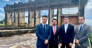 Presidente da OAB/MA faz inspeção na Barragem do Pericumã, em Pinheiro