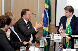 Vice-governador é recebido pelo ministro do Desenvolvimento Regional para tratar de barragens maranhenses