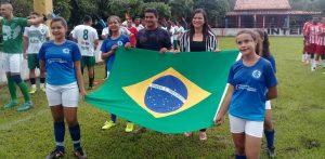 Presidente Sarney –Prefeita Valéria participa da abertura da Copa Rural em Bem Posta