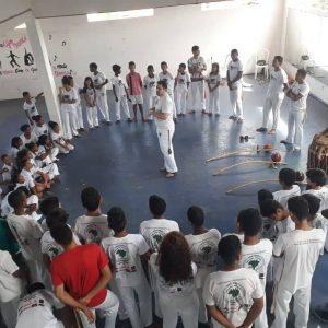 Pinheiro – Projeto Berimbau Educando realiza atividades em alusão a páscoa
