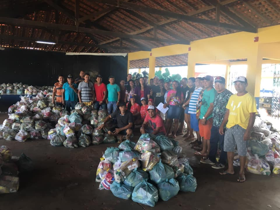Semana Santa –  Prefeita Valéria Castro distribuiu 3.000 cestas básicas para famílias de Presidente Sarney