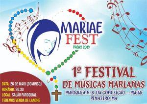 Paróquia Nossa Senhora da Conceição em Pacas realiza 1º Festival de Músicas Marianas