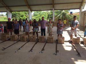 Governo entrega equipamentos a pescadores das cidades de Matinha, Penalva e Pinheiro